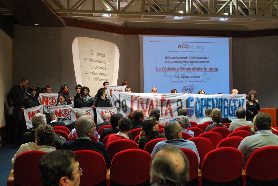Verso COP15: Ghisolfi contestato ad Alessandria