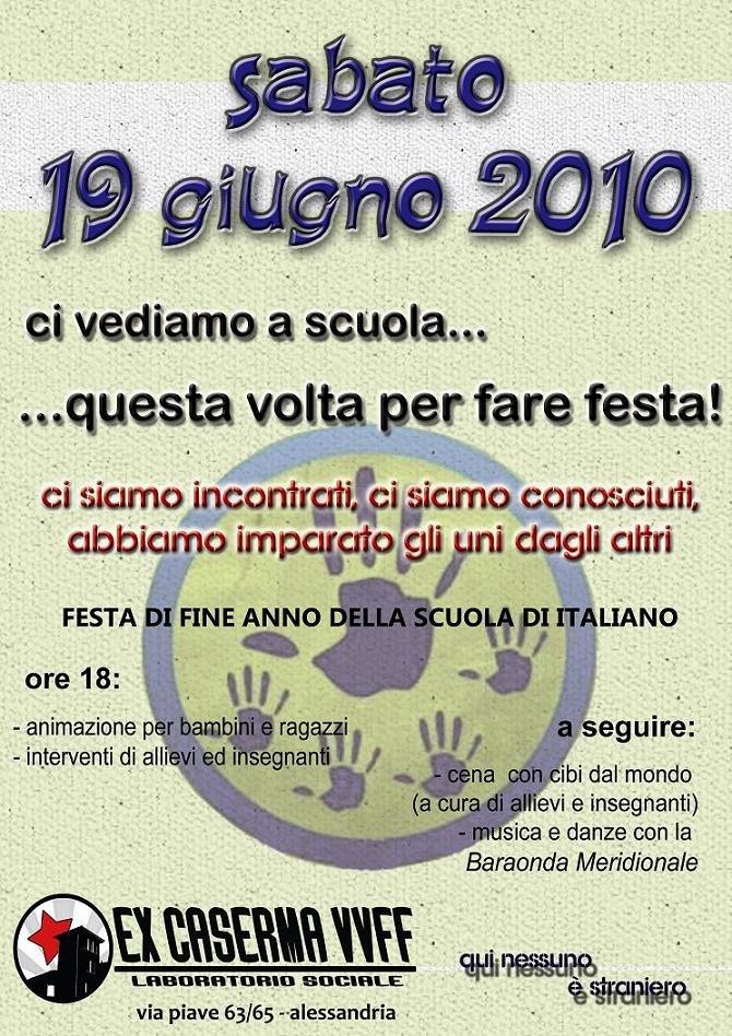 Alessandria – Festa della scuola di italiano del Laboratorio Sociale