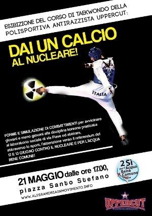 Dai un calcio al Nucleare!