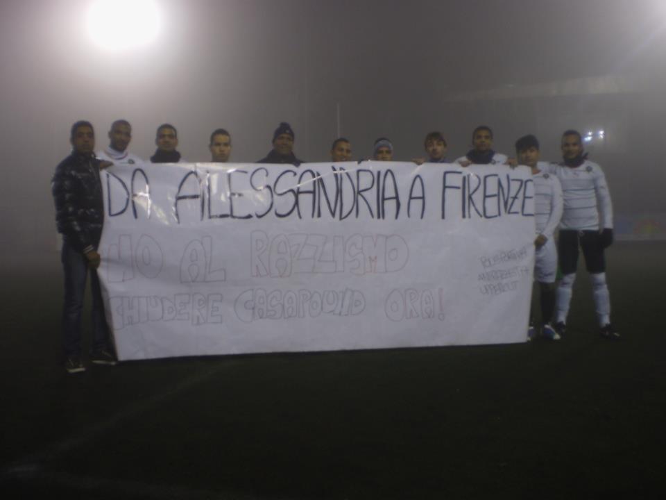 Da Alessandria a Firenze, no al razzismo. Chiudere Casa Pound ora!