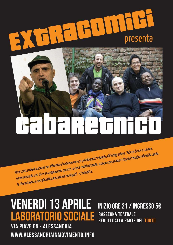 Extracomici unici in Italia presentano Cabaretnico