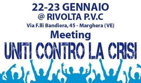 """Programma Seminario/Meeting """"Uniti contro la crisi"""""""