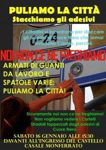 Casale Monferrato – Puliamo la città!