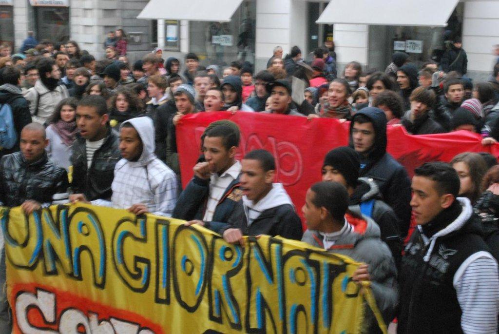 1 Marzo 2010 – 19 denunce per i fatti avvenuti davanti al Comune di Alessandria