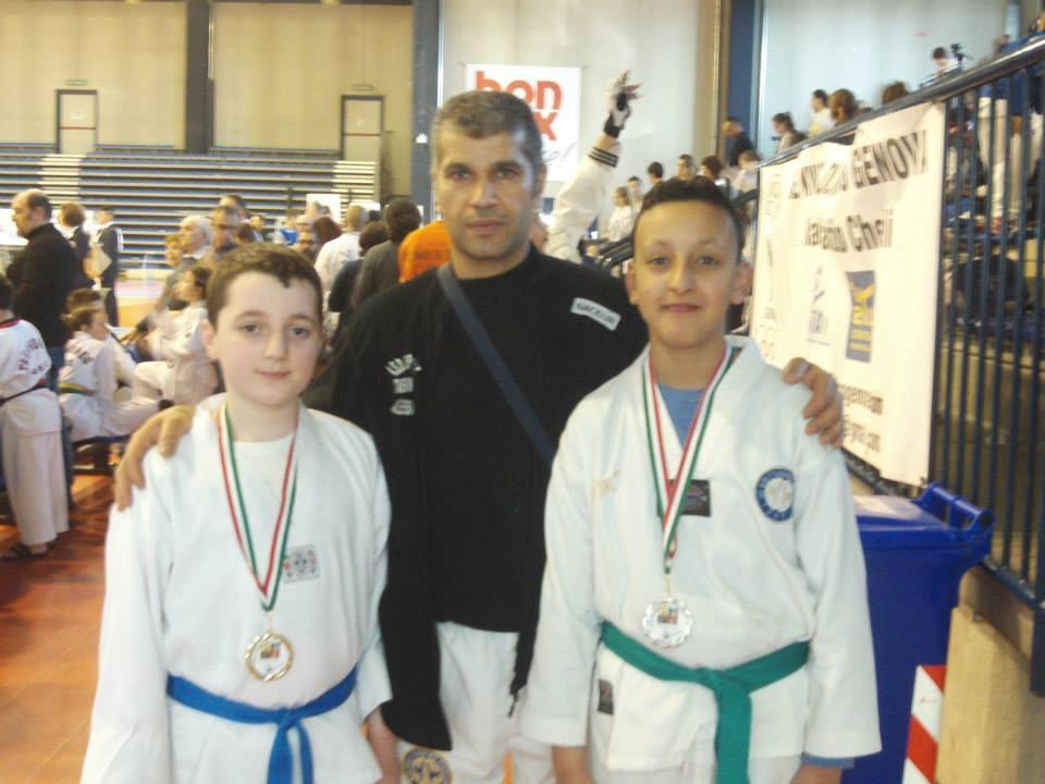I ragazzi dell'Uppercut taekwondo conquistano 8 medaglie a Biella