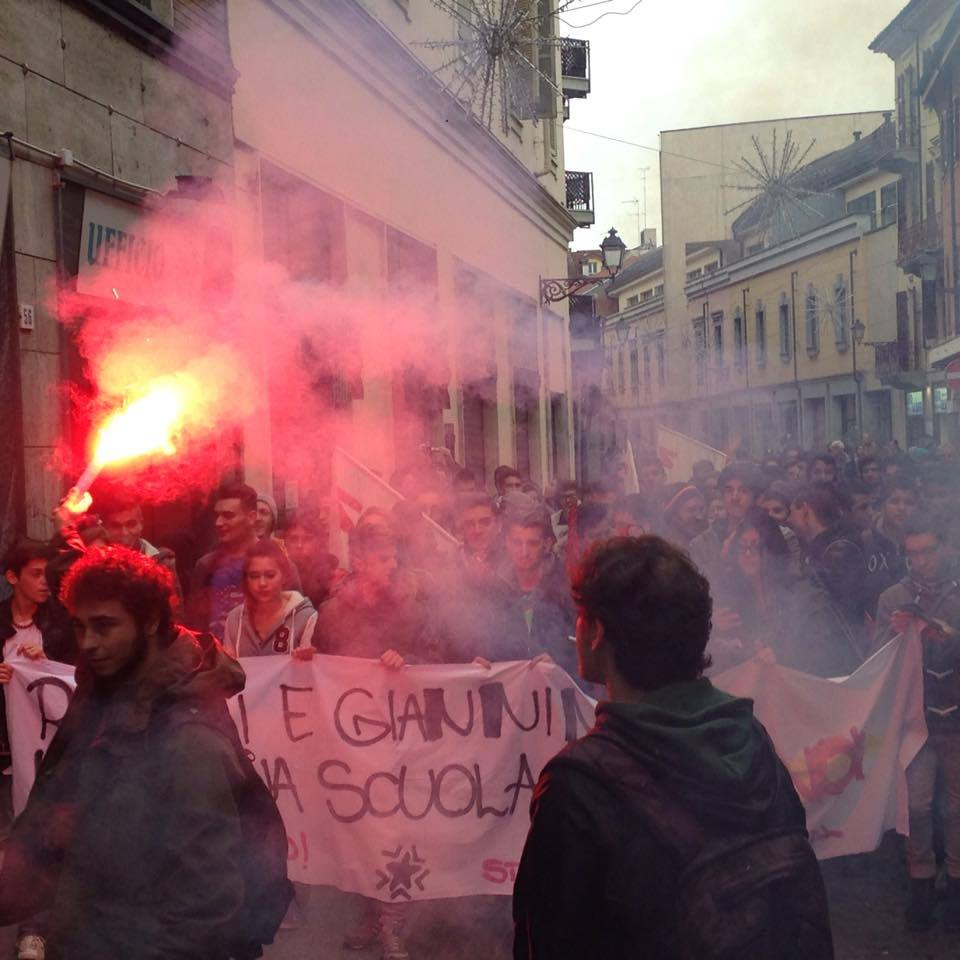 #14N Alessandria – Ancora corteo e assemblea molto partecipate