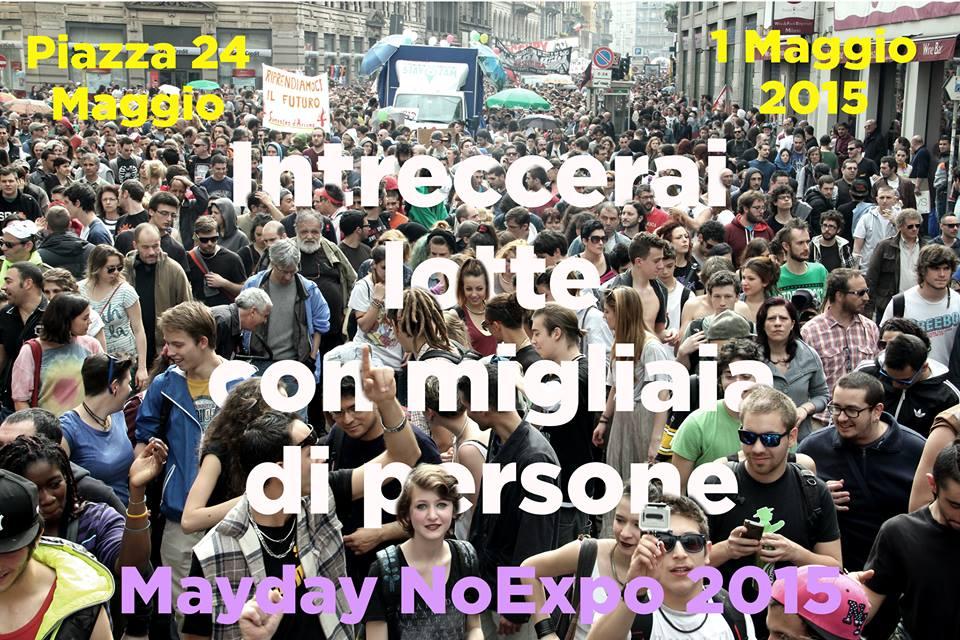 Da Alessandria a Milano il 1 maggio per la manifestazione #NoExpo