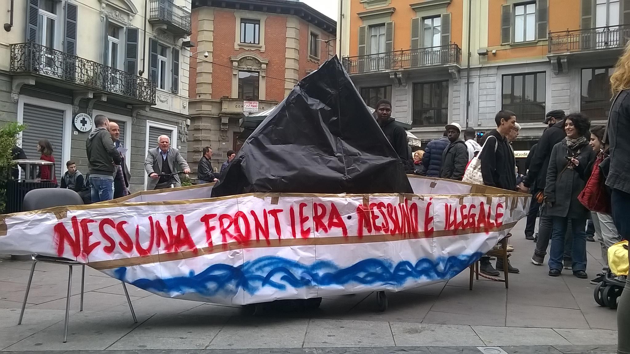Qui nessuno è straniero! Un 25 Aprile di lotta meticcio ed antirazzista.