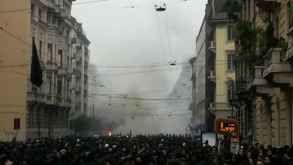 Sulla manifestazione NoExpo di Milano e gli sciacalli della stampa