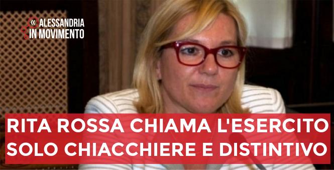 Rita Rossa: solo chiacchiere e distintivo