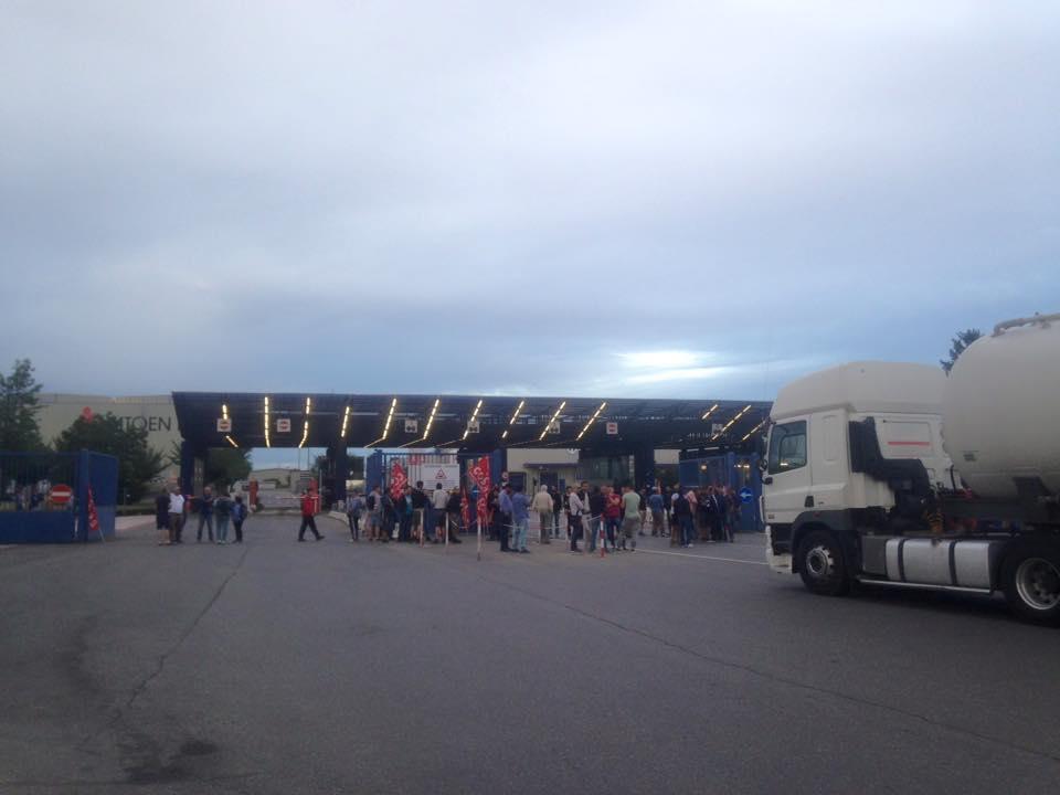 Nuova giornata di lotta dei facchini dell'interporto di Rivalta