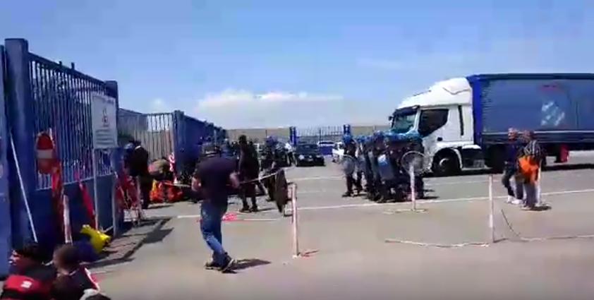 Rivalta Scrivia Sciopero Interporto: contro il Jobs Act e la repressione!