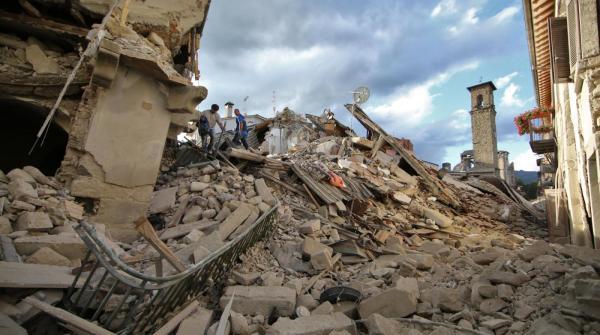 Raccolta beni per le popolazioni colpite dal terremoto