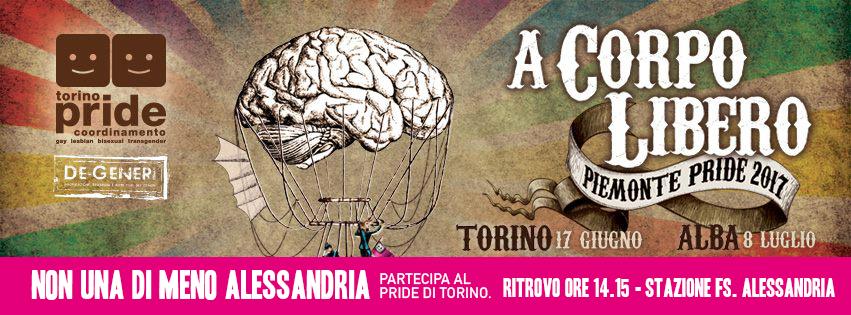 Sabato 17 giugno Non una di meno al Pride di Torino