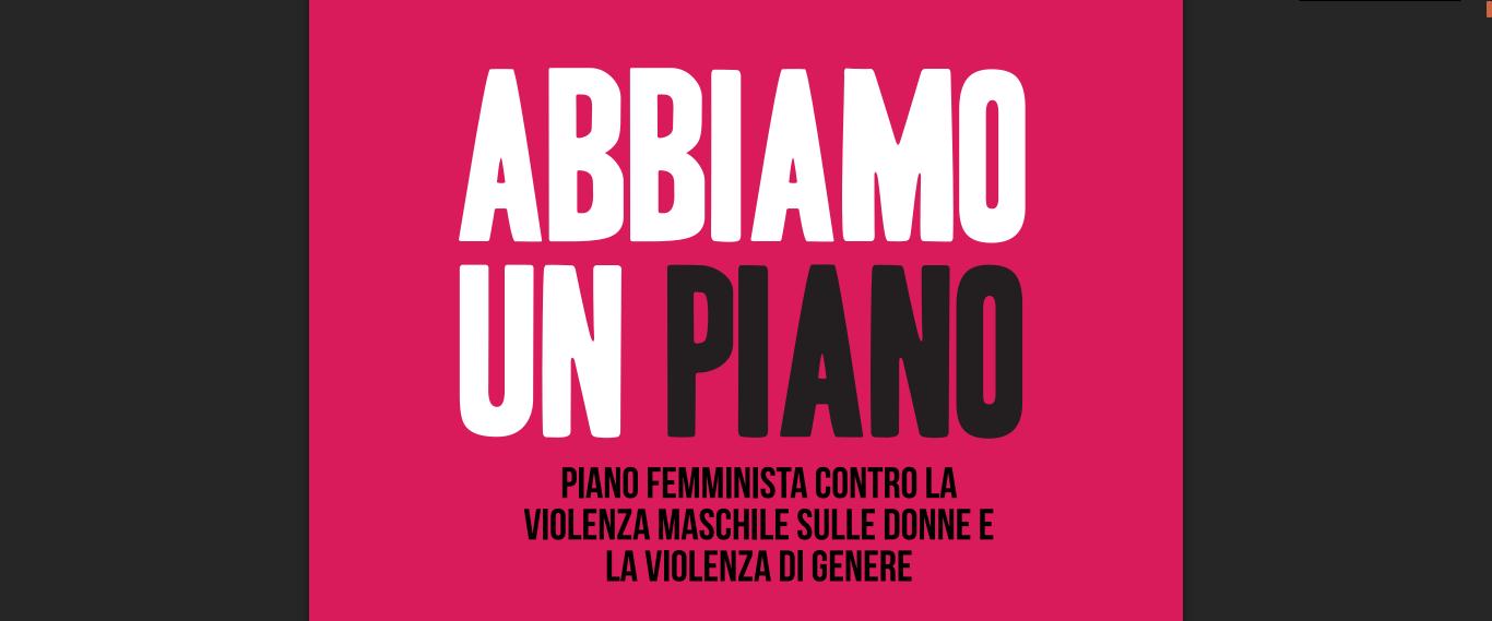 Non Una di Meno presenta il piano femminista contro la violenza di genere