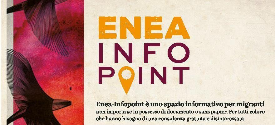 Apre Enea-Infopoint perchè migrare è un diritto!