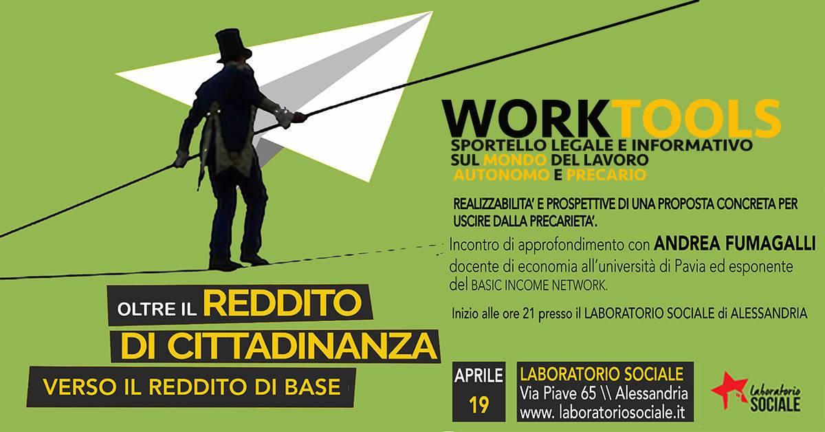 Oltre il reddito di cittadinanza: il 19 aprile una serata con il prof. Andrea Fumagalli