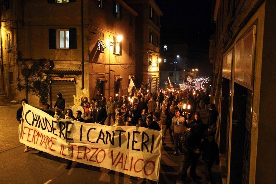 Mercoledì 30 maggio assemblea pubblica No Terzo Valico a Genova