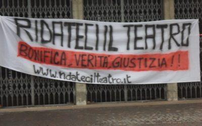 Alessandria – Migliaia di cittadini lo chiedono a gran voce: Ridateci il teatro!