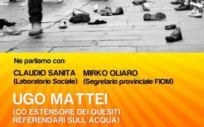 Alessandria – Verso lo sciopero del 6 Maggio. Sconfiggiamo il modello Berlusconi, Gelmini, Marchionne