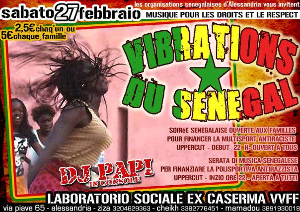 Vibrations du Senegal: tra radici e ponti, una festa verso il 1 Marzo