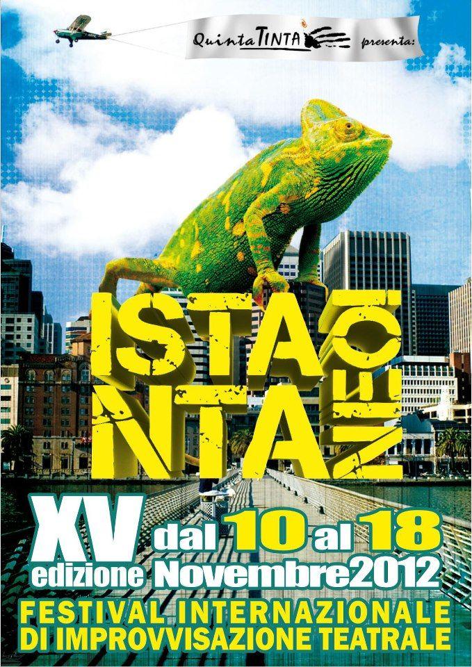 Istantaneo – Festival Internazionale di Improvvisazione Teatrale – Sabato 10 e Domenica 18 Novembre al Laboratorio Sociale di Alessandria