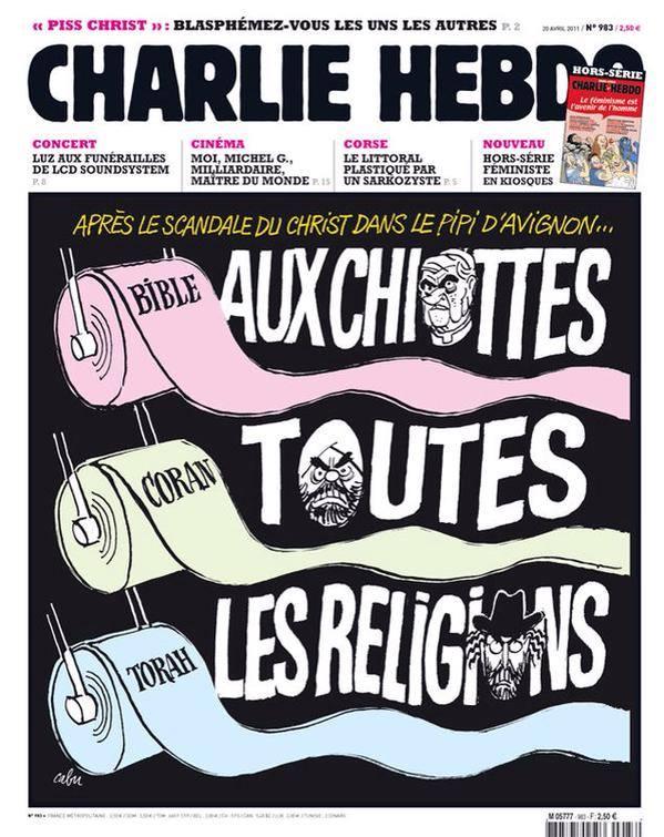 Siamo tutti Charlie Hebdo. Intervista a Gérard Biard, caporedattore del giornale