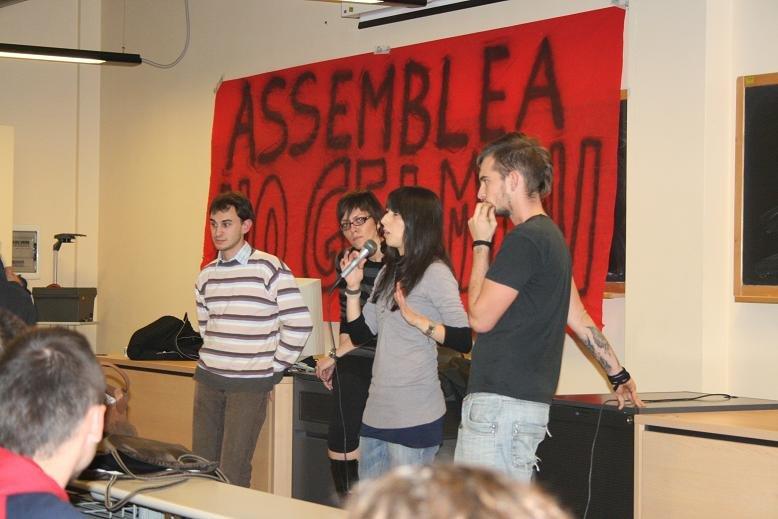 Alessandria – 500 studenti in assemblea nelle università
