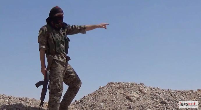 Combattente italiano delle Ypg manda un messaggio all'Italia dal Rojava (video)