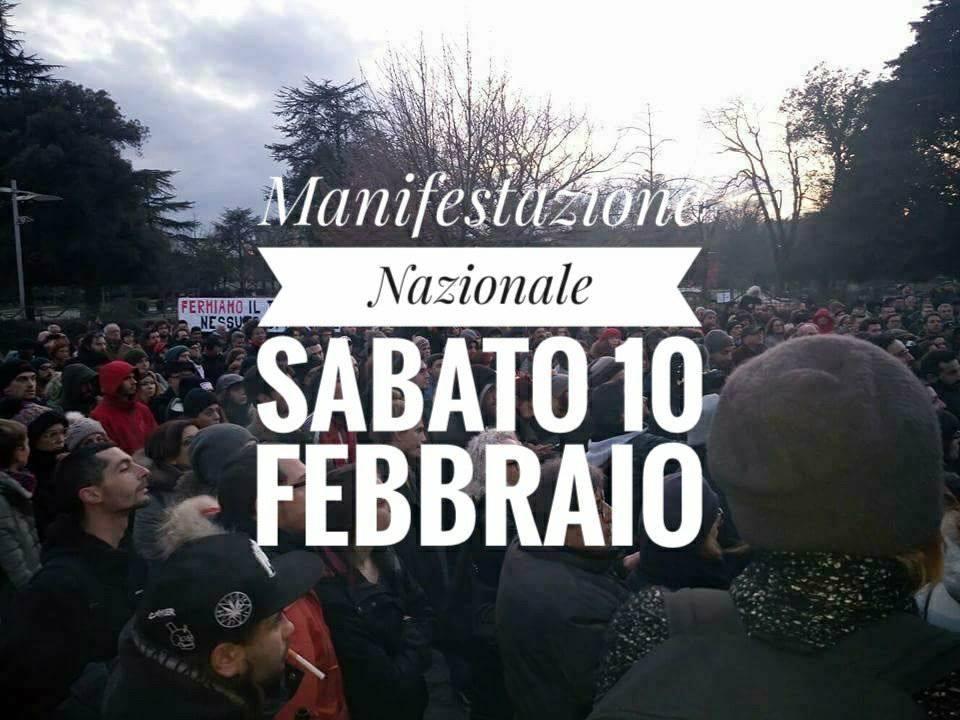Manifestazione nazionale a Macerata: partenza da Alessandria