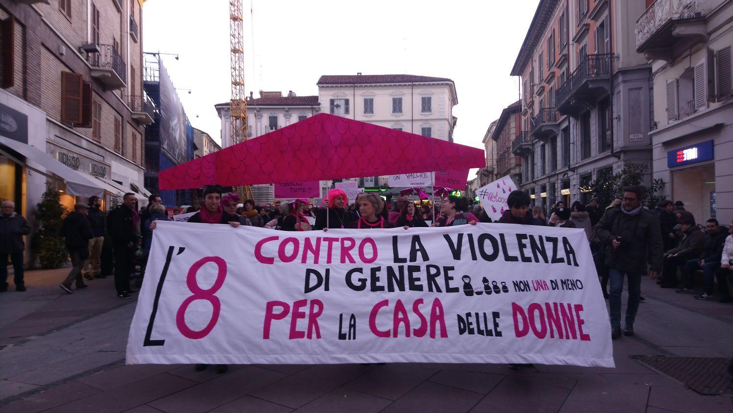 L'8 marzo contro la violenza di genere, per una casa delle donne