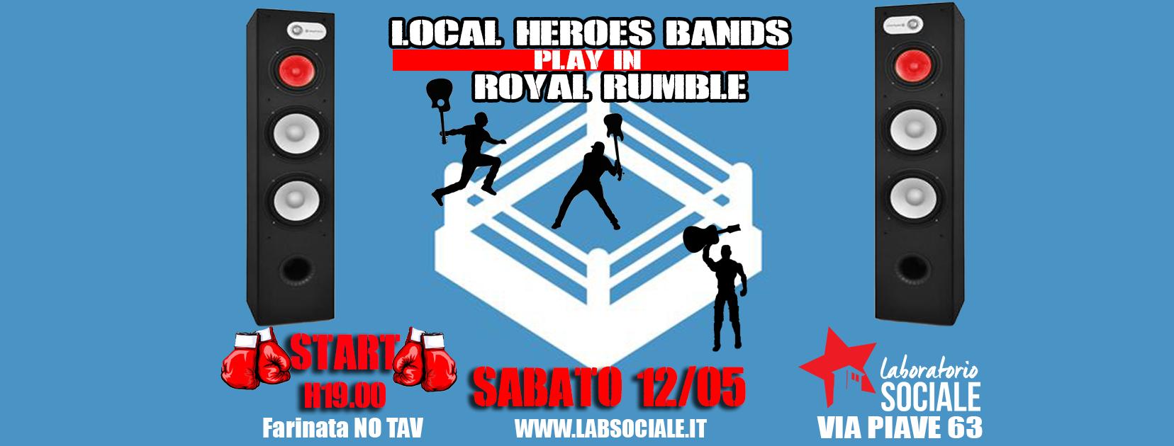 Il 12 maggio le band locali si sfidano al Laboratorio Sociale