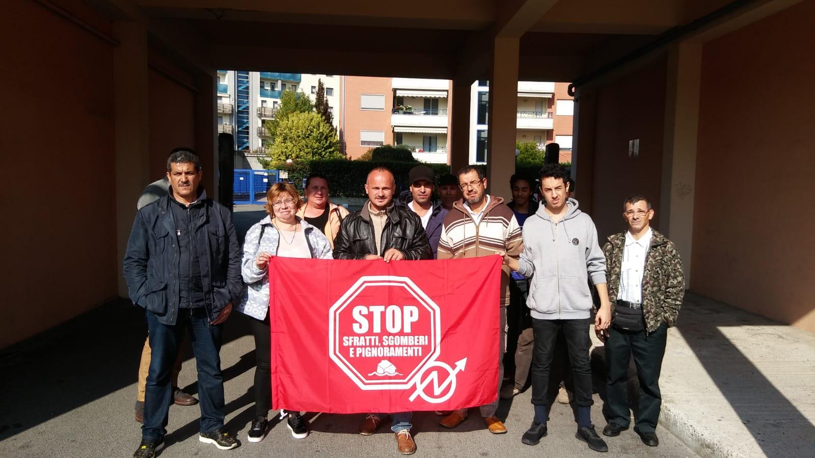 Tre sfratti bloccati in un'altra settimana di lotta per il diritto all'abitare