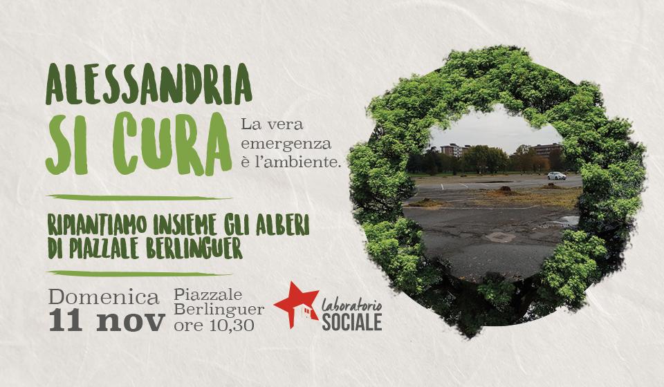 Ripiantiamo insieme gli alberi di piazzale Berlinguer!
