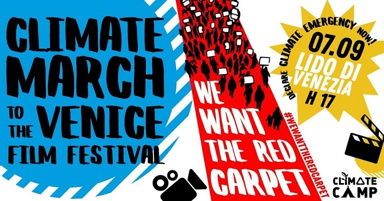 Appello di Fridays For Future verso la climate march del 7 settembre a Venezia