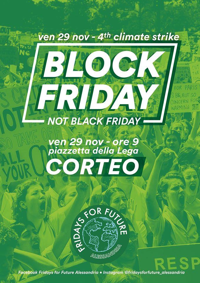 Venerdì 29 novembre quarto sciopero globale per il clima