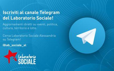 Iscriviti al canale Telegram del Laboratorio Sociale!