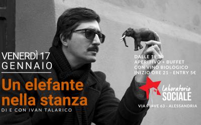 Venerdì 17 gennaio il concerto di Ivan Talarico