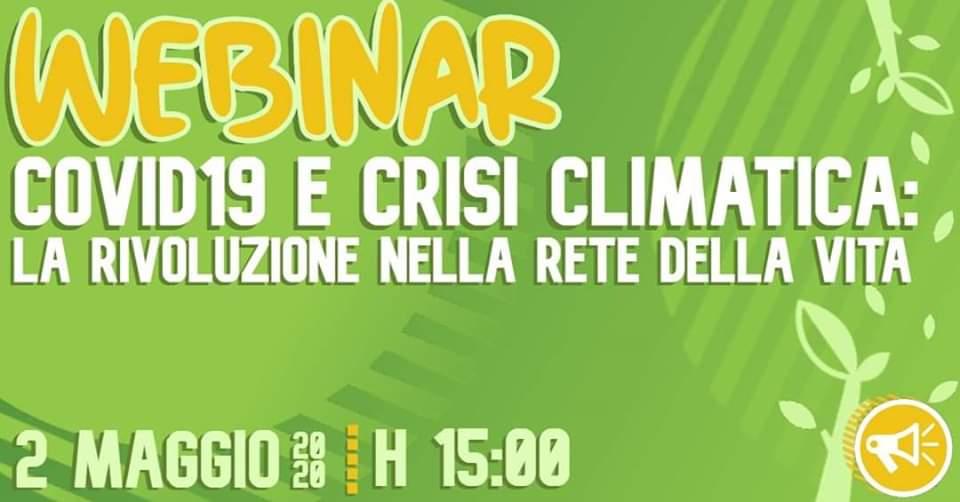 Covid-19 e crisi climatica: la rivoluzione nella rete della vita