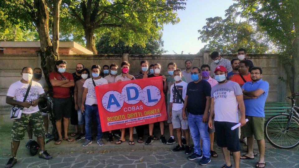ADL Cobas entra nel magazzino Maxi Dì di Spinetta Marengo