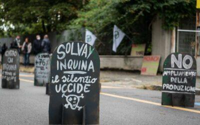 La Provincia ha deciso: la salute delle persone non vale quanto il profitto di Solvay