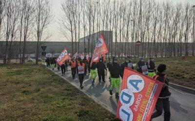 Seconda giornata di sciopero alla Coop di Vercelli