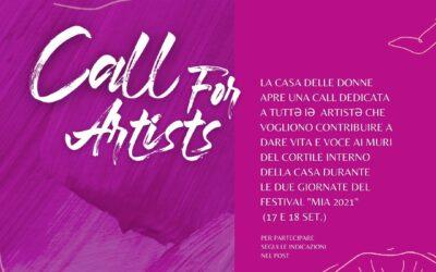 Call for artists – MIA 2021 – Un altro genere di arte